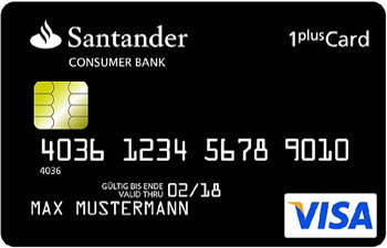 Santander Reisekreditkarte