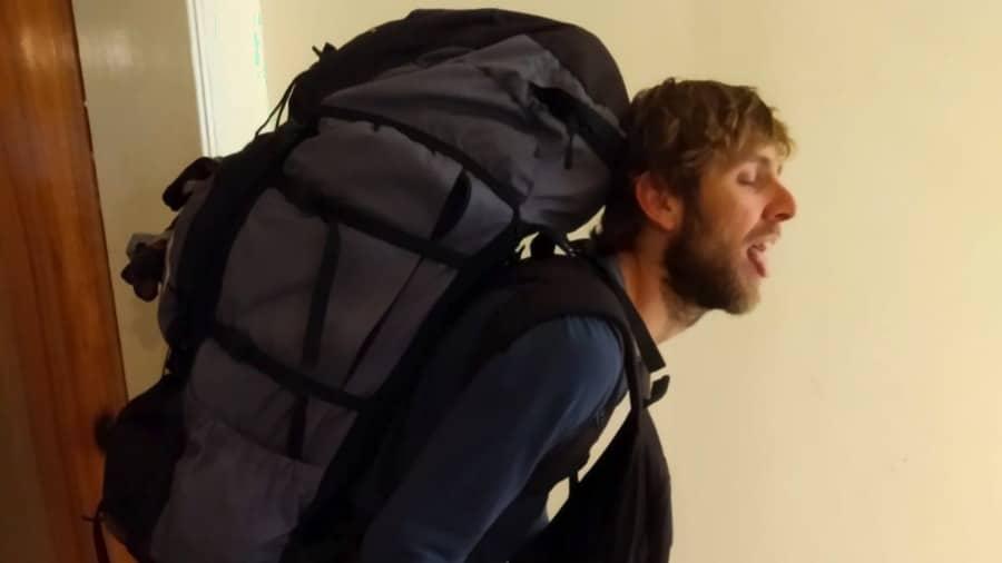 Welche Rucksackgröße: zu viel Stauraum