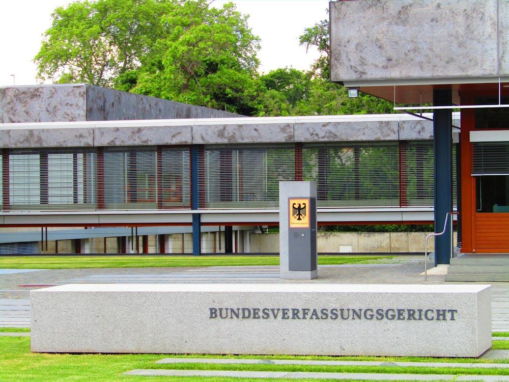 Gebäude Bundesverfassungsgericht Karlsruhe