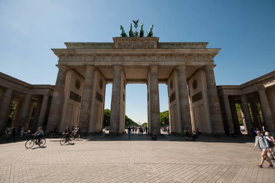 Leichte Radtour vom Brandenburger Tor