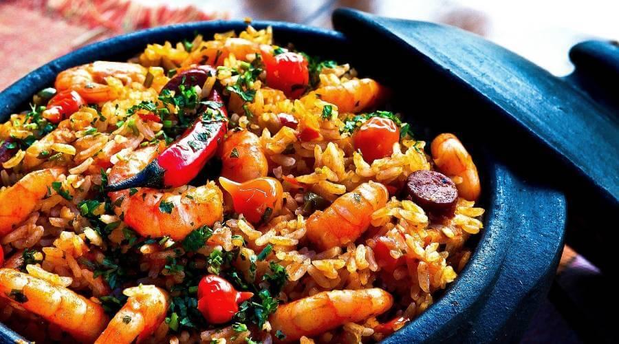 Sehr leckerer Djuvec-Reis aus Kroatien