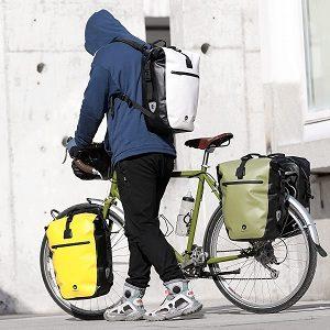 So werden Fahrradtaschen getestet - Kriterien