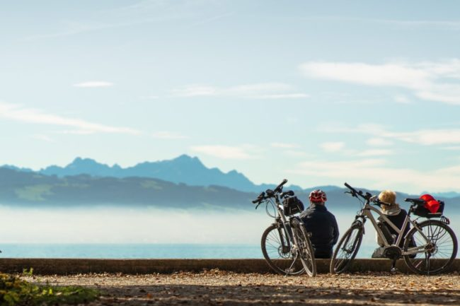 Die beste Fahrradtour am Bodensee