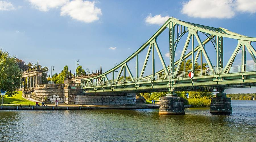 Zielpunkt Glienicker Brücke
