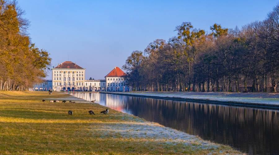 Münchens grüner Osten – Theresienwiese, Westpark und Schloss Nymphenburg