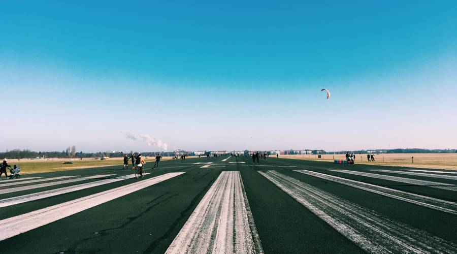Erlebnisradtour zum Tempelhofer Feld