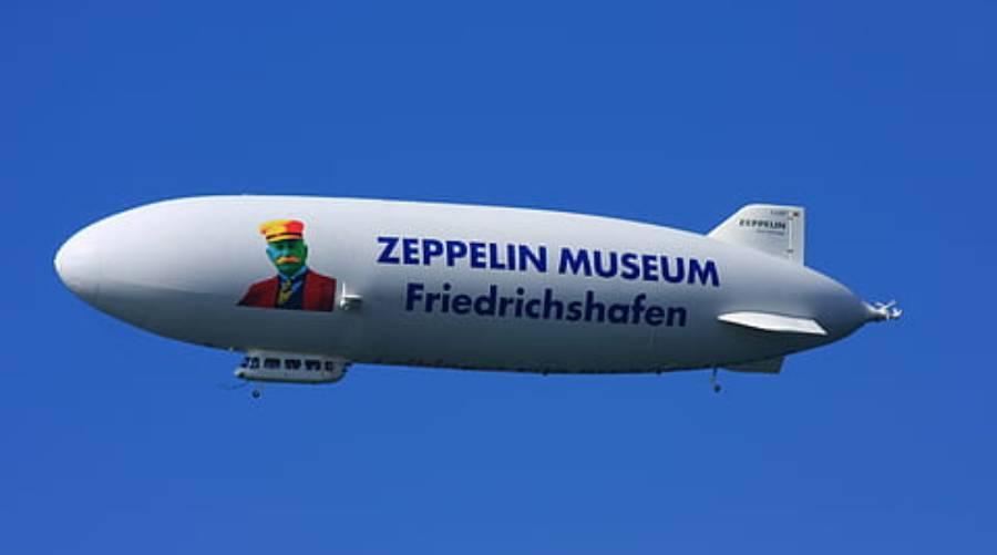 Das gute Zeppelin Museum in Friedrichshafen am Bodensee