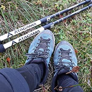 Das beste Material der Nordic Walking Stöcke im Test und Vergleich
