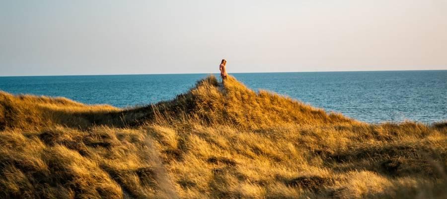 Der Søndervig Strand in Dänemark