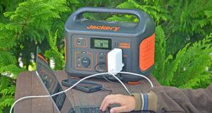 Die Explorer 500 von Jackery ist perfekt für den Betrieb auf einem Campingplatz geeignet