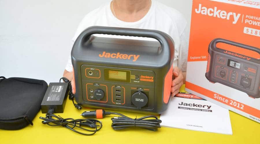 Die Eigenschaften vom Jackery Explorer 500 Solarspeicher im Test