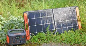 Umweltfreundlichkeit - Solarpanel SolarSaga 100 von Jackery
