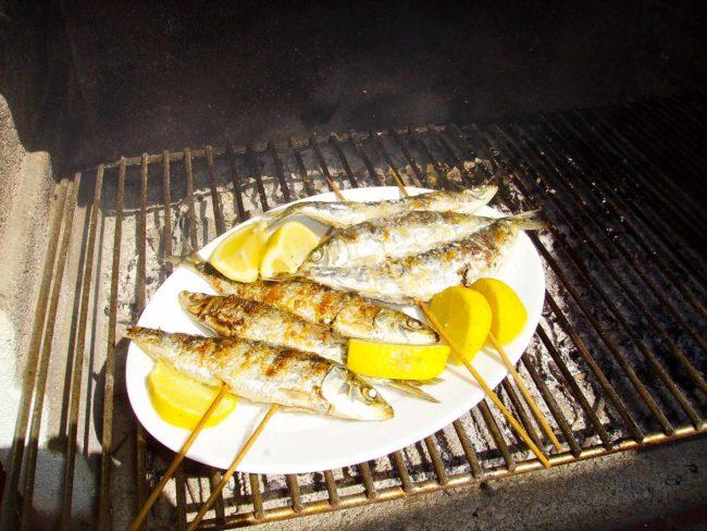 portugiesisches-essen-sardine-gericht