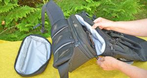 Das Fassungsvermögen vom Wayks Travel Bundle Original Rucksack im Test