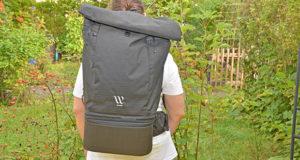 Der Tragekomfort des Wayks Travel Bundle Original Rucksacks im Test